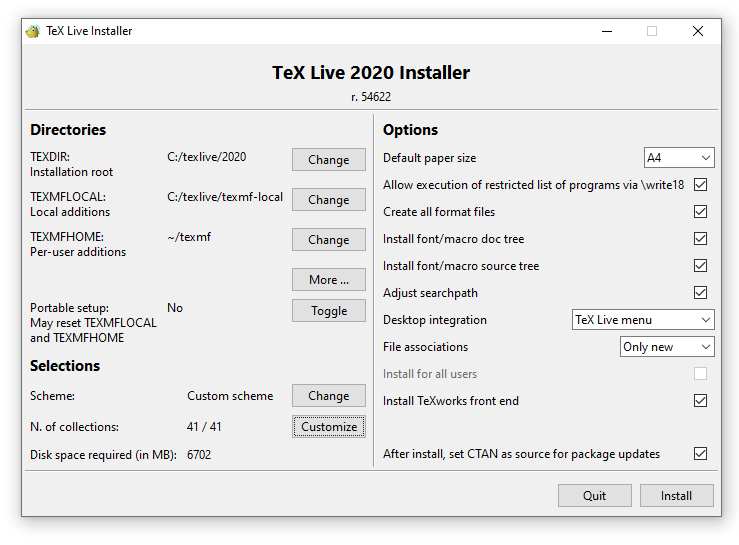Cai dat Texlive va Texmaker tren Windows